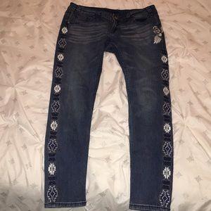 Rock&Roll Skinny Jeans.